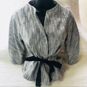 TALBOTS 3/4 Sleeve Contemporary Blazer Size 4